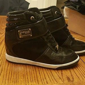 Bebe Sport Wedge Sneakers